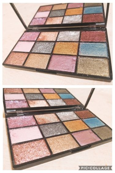 METALS  IN YOUR ELEMENTS PALETTE/NYX Professional Makeup/パウダーアイシャドウを使ったクチコミ(2枚目)