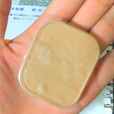 UV バイ ケーキ(スポンジ入り)/ちふれ/パウダーファンデーションを使ったクチコミ(1枚目)