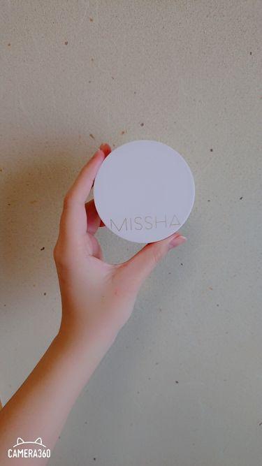 マジッククッション(カバーラスティング)/MISSHA/クッションファンデーションを使ったクチコミ(1枚目)
