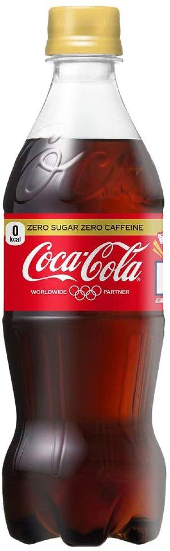 コカ・コーラ ゼロカフェイン 日本コカ・コーラ