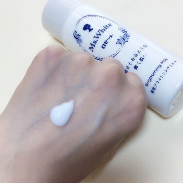 Ms. White 薬用ブライトニングローション/ロゼット/化粧水を使ったクチコミ(4枚目)