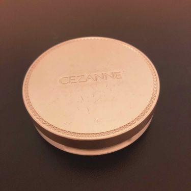 UVシルクフェイスパウダー/CEZANNE/プレストパウダーを使ったクチコミ(2枚目)
