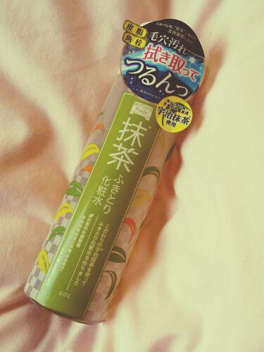 ワフードメイド 宇治抹茶ふきとり化粧水/pdc/化粧水を使ったクチコミ(1枚目)