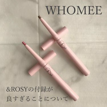 & ROSY 付録/ARTISAN&ARTIST(アルティザン・アンド・アーティスト)/その他を使ったクチコミ(1枚目)