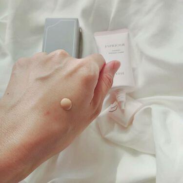 コンフォート メイククリーム〈色つき美容クリーム〉/ESPRIQUE/化粧下地を使ったクチコミ(3枚目)