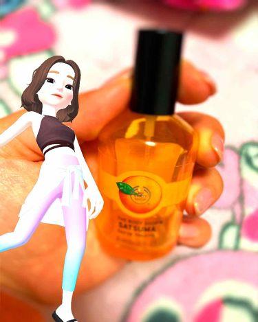 オードトワレ サツマ/THE BODY SHOP/香水(レディース)を使ったクチコミ(1枚目)