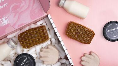 Hand Care Kit 『Clean & Sweet』/ラッシュ/スキンケアキットを使ったクチコミ(1枚目)