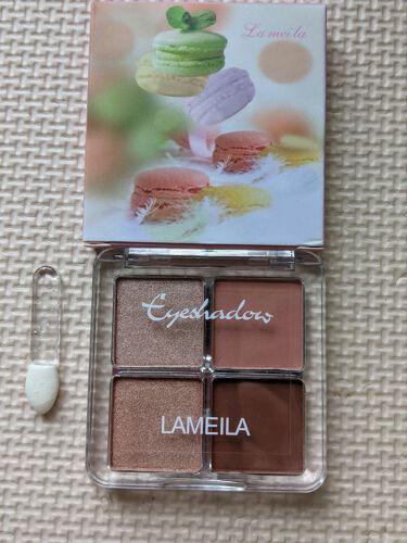 あおい on LIPS 「ラメイラアイシャドウ馴染みやすい色です😊❤️#ラメイラ#アイシ..」(1枚目)