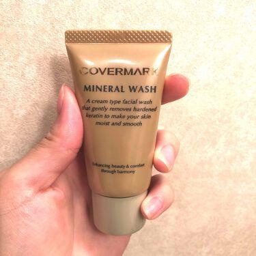 ミネラルウォッシュ/COVERMARK/洗顔フォームを使ったクチコミ(1枚目)