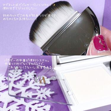 エアリーブラープライミングパウダー/HERA/化粧下地を使ったクチコミ(3枚目)
