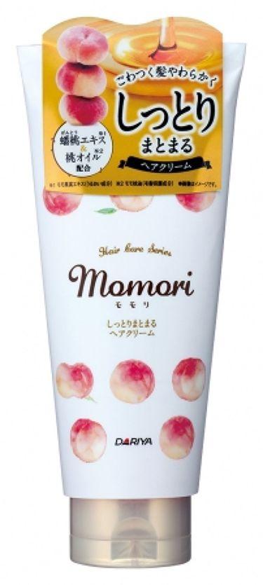 しっとりまとまるヘアクリーム  momori