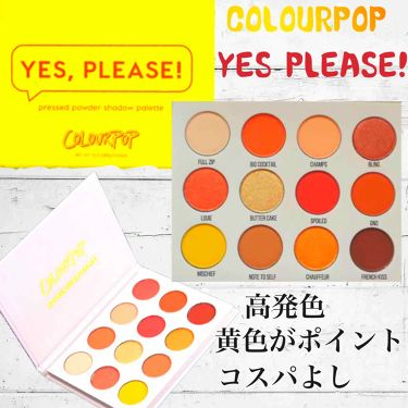 Yes,Please! Shadow Palette/ColourPop/パウダーアイシャドウ by 楓