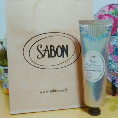 りー(˘ω˘)さんの「SABON(サボン)バターハンドクリーム パチュリ・ラベンダー・バニラ<ハンドクリーム・ケア>」を含むクチコミ