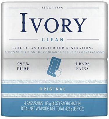 P&G Ivory Bar soap(アイボリー石鹸)ホワイト IVORY(アイボリー)