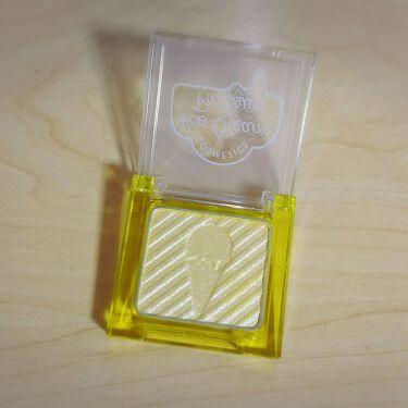 アイシャドウ/アイスクリームパーラー コスメティクス/パウダーアイシャドウを使ったクチコミ(2枚目)