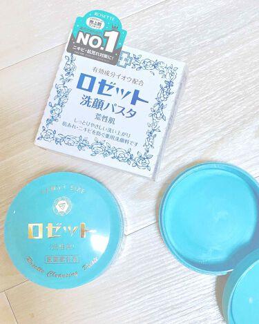 みほこさんの「ロゼットロゼット 洗顔パスタ 荒性肌<洗顔フォーム>」を含むクチコミ