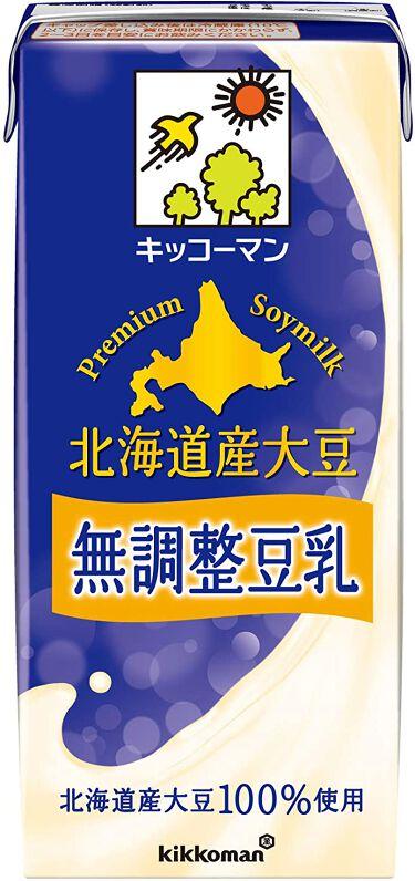 おいしい無調製豆乳 北海道産大豆 無調整豆乳1000ml