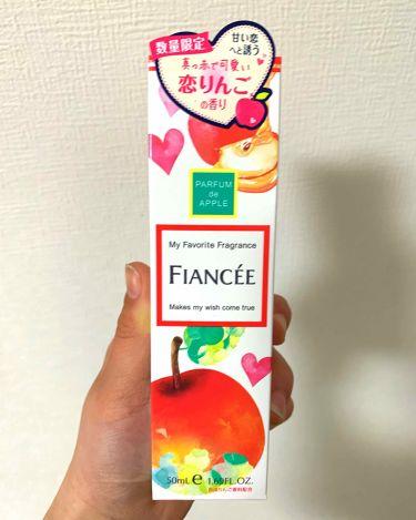 フィアンセ ボディミスト 恋りんごの香り/フィアンセ/香水(レディース)を使ったクチコミ(2枚目)