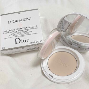 スノー パーフェクト ライト コンパクト ファンデーション/Dior/パウダーファンデーションを使ったクチコミ(2枚目)