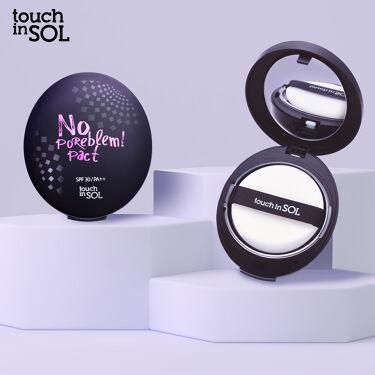 ノーポアブレム パクト/Touch In Sol/プレストパウダーを使ったクチコミ(1枚目)