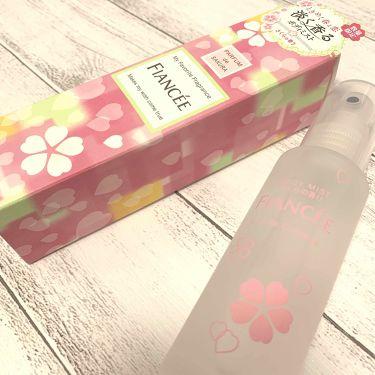 ボディミスト さくらの香り/フィアンセ/香水(レディース)を使ったクチコミ(1枚目)