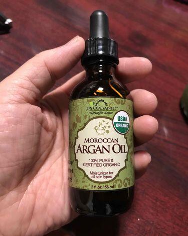 オーガニック・アルガンオイルUSDA認定/US Organic/フェイスオイルを使ったクチコミ(1枚目)