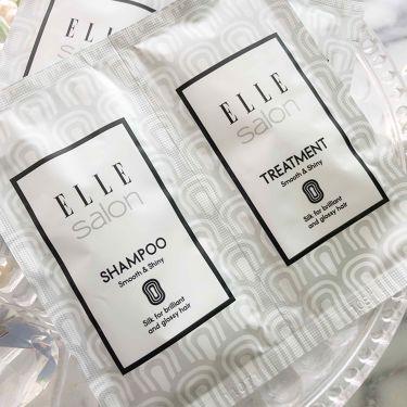 ELLEsalon シャンプー&トリートメント/エルサロン/シャンプー・コンディショナーを使ったクチコミ(2枚目)