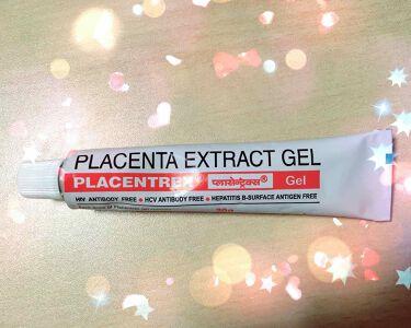 PLACENTREX EXTRACT GEL(ヒトプラセンタジェル)/Placentrex/その他を使ったクチコミ(1枚目)
