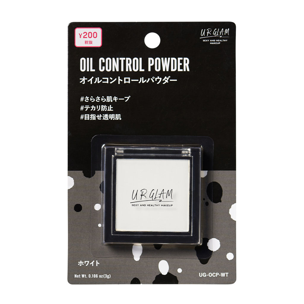 UR GLAM OIL CONTROL POWDER DAISO