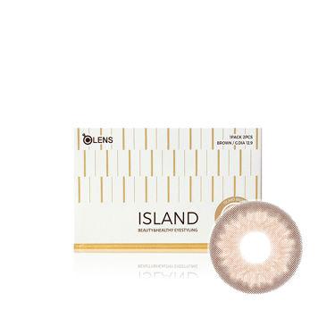ISLAND (アイランド) ブラウン