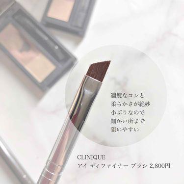 アイ ディファイナー ブラシ/CLINIQUE/その他化粧小物を使ったクチコミ(3枚目)