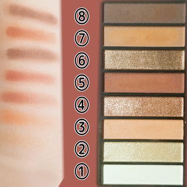 レブロン カラーステイ ルックス ブック パレット/REVLON/パウダーアイシャドウを使ったクチコミ(2枚目)