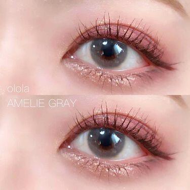 アメリグレー (Amelie Gray)/OLOLA/カラーコンタクトレンズを使ったクチコミ(1枚目)