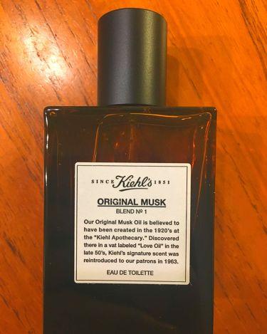 キールズ オリジナル ムスク/Kiehl's/香水(レディース)を使ったクチコミ(2枚目)