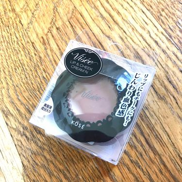 リップ&チーククリーム N/Visée/ジェル・クリームチークを使ったクチコミ(1枚目)