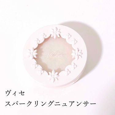 リシェ スパークリング ニュアンサー/ヴィセ/ジェル・クリームアイシャドウを使ったクチコミ(1枚目)