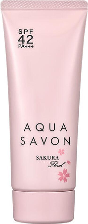2021/1/8発売 アクアシャボン UVジェル サクラフローラルの香り