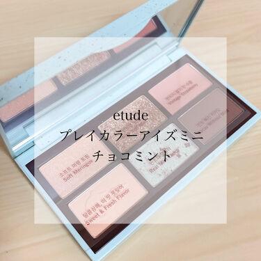 プレイカラーアイズミニ チョコミント/ETUDE/パウダーアイシャドウを使ったクチコミ(1枚目)