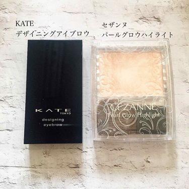 デザイニングアイブロウ3D/KATE/パウダーアイブロウを使ったクチコミ(2枚目)