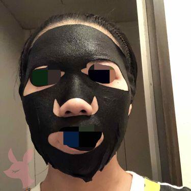 W.H.P ホワイトハイドレーティング ブラックマスクEX./MEDIHEAL/シートマスク・パックを使ったクチコミ(2枚目)