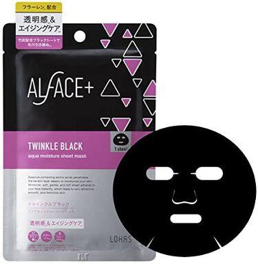 トゥインクルブラック アクアモイスチャーシートマスク 1枚