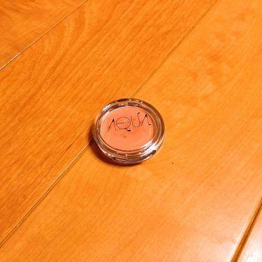 オーガニッククリームチーク/アクア・アクア/ジェル・クリームチークを使ったクチコミ(1枚目)