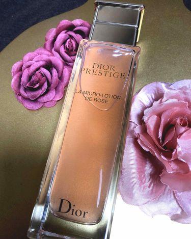 プレステージ ローション ド ローズ/Dior/化粧水を使ったクチコミ(1枚目)
