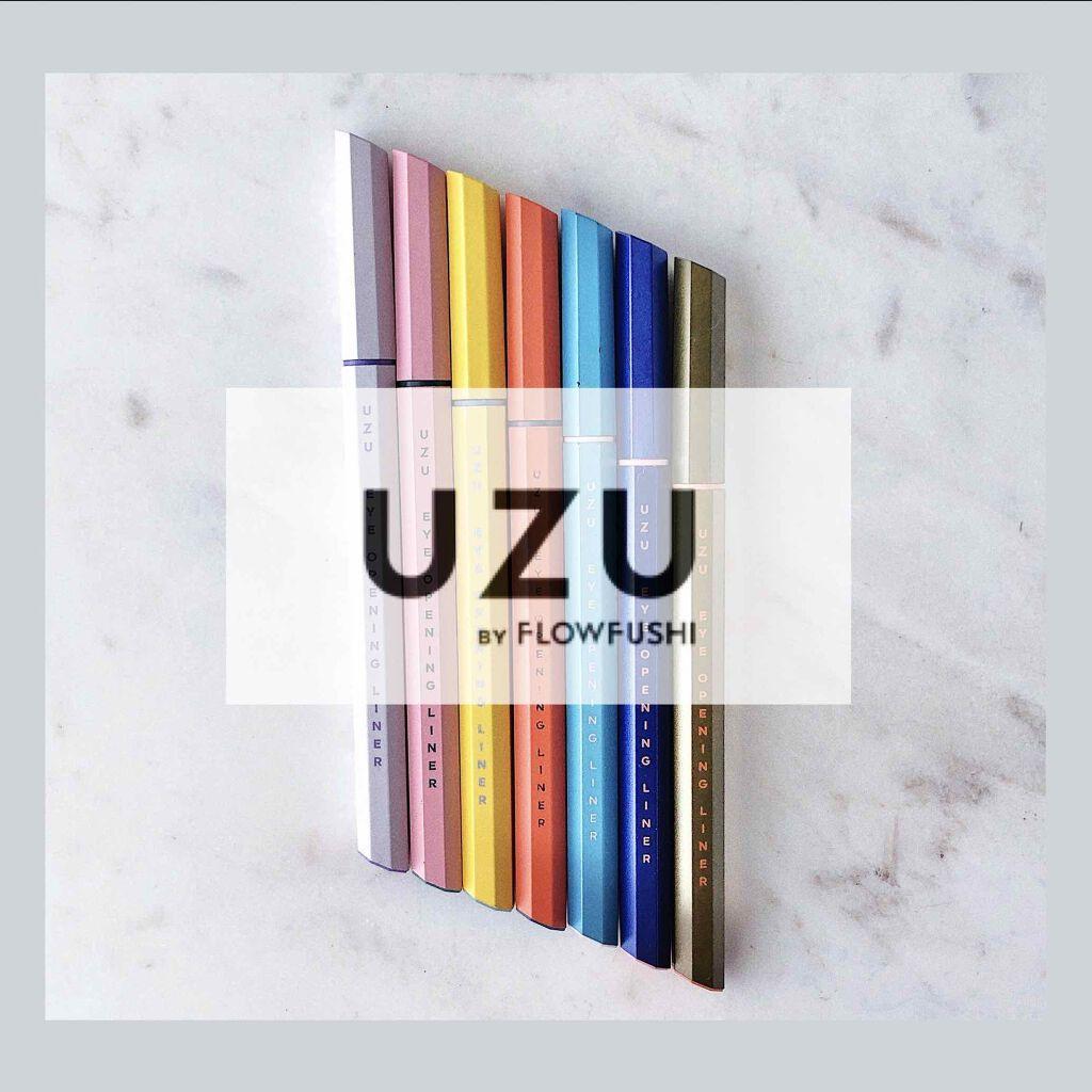 UZE彩色眼線液筆包裝