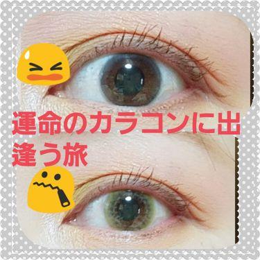 Twinkle Eyes 1day<ミレットシリーズ>/TwinkleEyes/カラーコンタクトレンズを使ったクチコミ(1枚目)