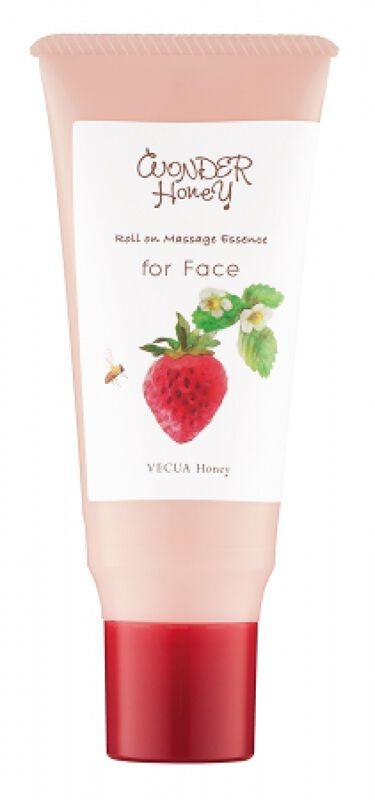 2020/3/1発売 VECUA Honey ワンダーハニー コロコロマッサージのすっきり美容液 イチゴ