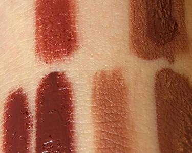 【画像付きクチコミ】2枚目は自分の手が載っているので汚いやびっくりする方々もいらっしゃると思うのでお気をつけてください🙇♂️商品:ColorlipstainBR01Toffeenut1.オレンジ寄りの茶色で唇に塗ると元々の唇の色が消えるくらい高発色2....