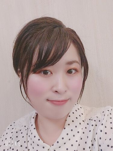 濡れ髪アレンジ スタイリングジェリー/momori/ヘアジェルを使ったクチコミ(3枚目)