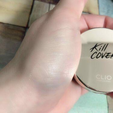 キル カバー ファンウェア クッション エックスピー/CLIO/クッションファンデーションを使ったクチコミ(2枚目)