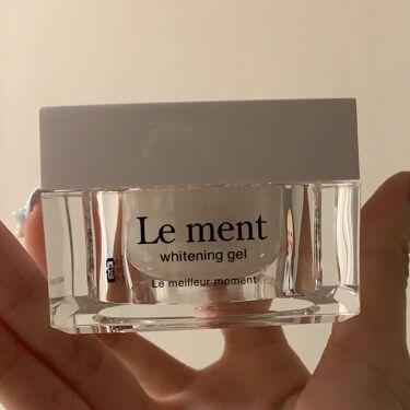 ルメント ホワイトニングジェル/Le ment(ルメント)/オールインワン化粧品を使ったクチコミ(1枚目)